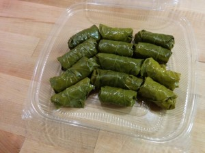 Raw Dolmas with Zucchini Rice